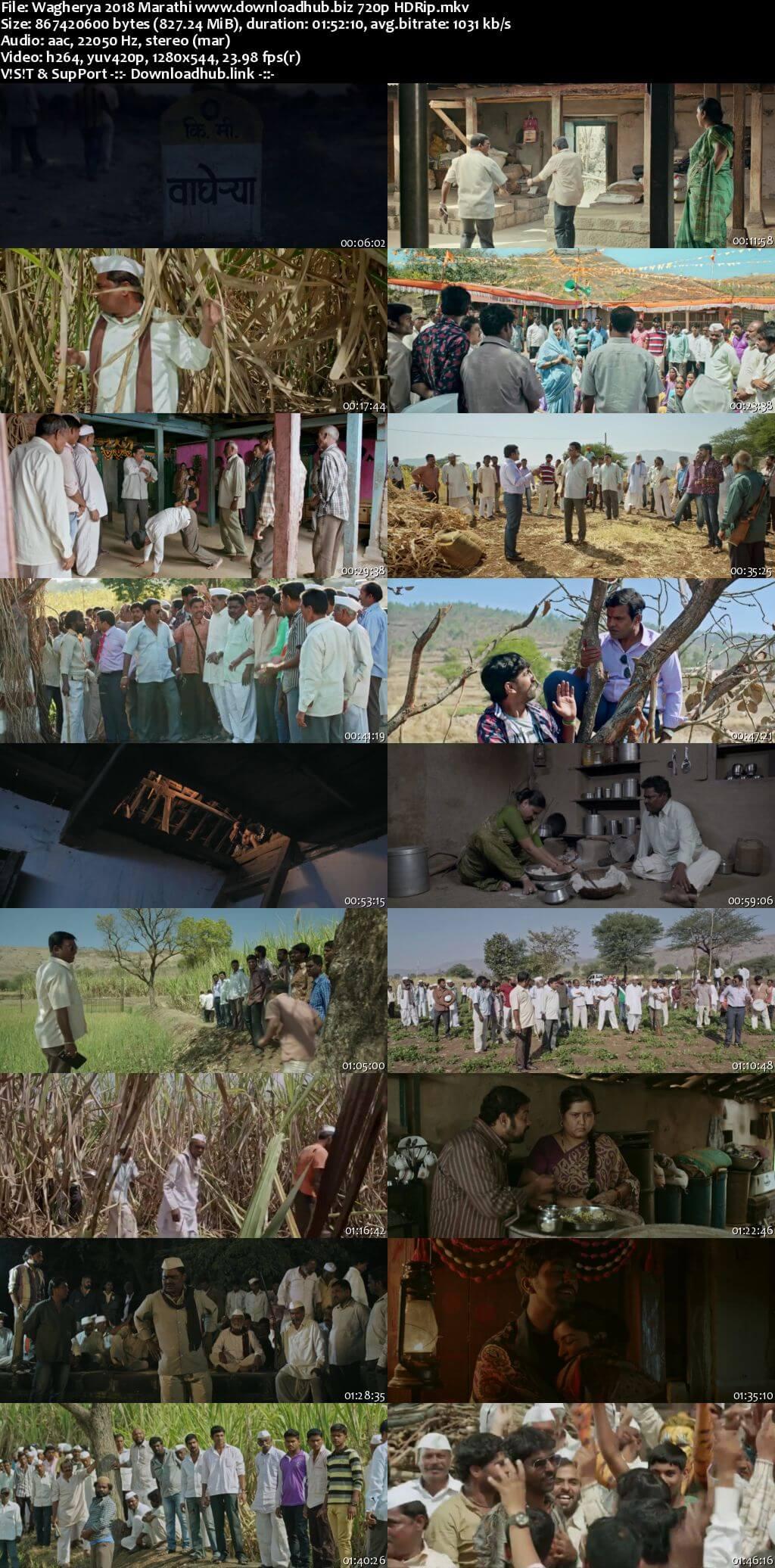 Wagherya 2018 Marathi 720p HDRip x264