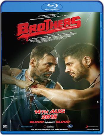 Brothers 2015 Hindi 480p Bluray 400mb
