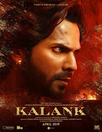 Kalank 2019 Hindi 720p HDRip ESubs