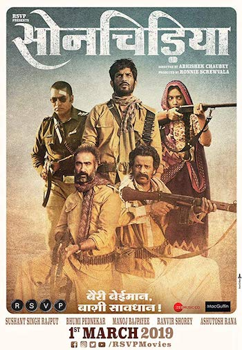 Sonchiriya 2019 Full Hindi Movie 720p HEVC HDRip Download