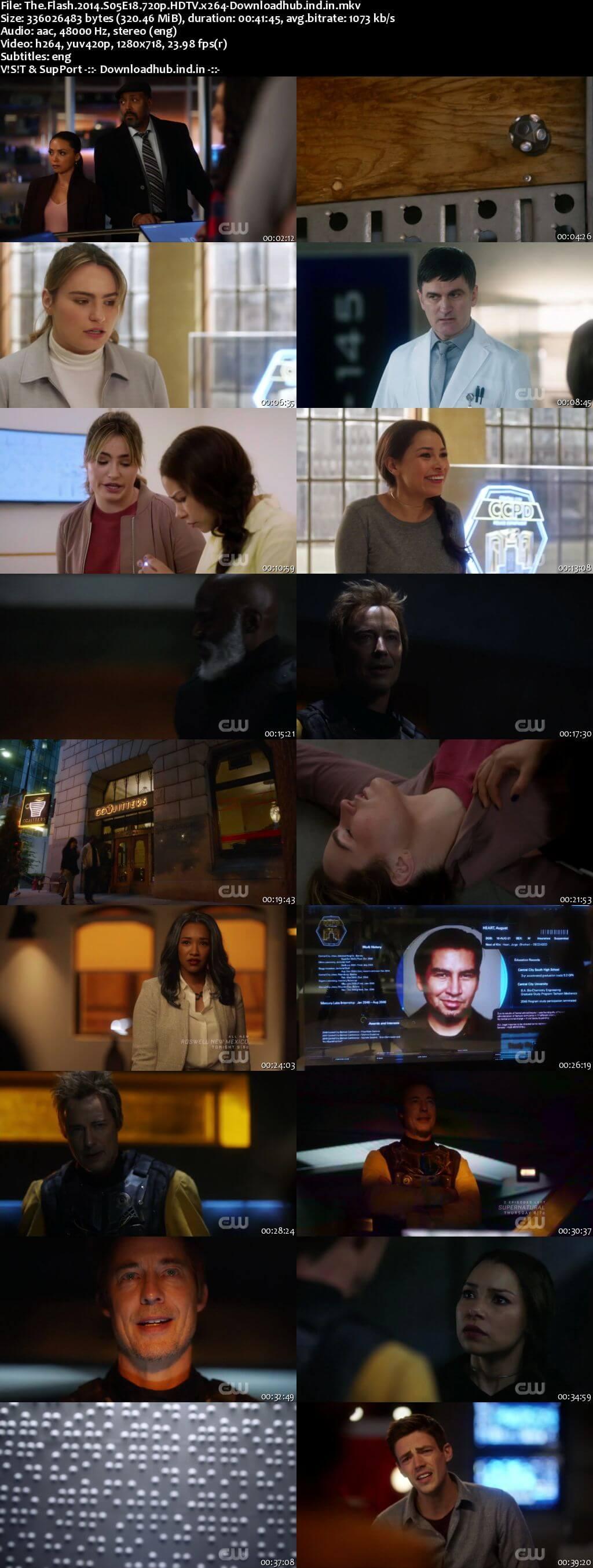 The Flash S05E18 300MB HDTV 720p x264