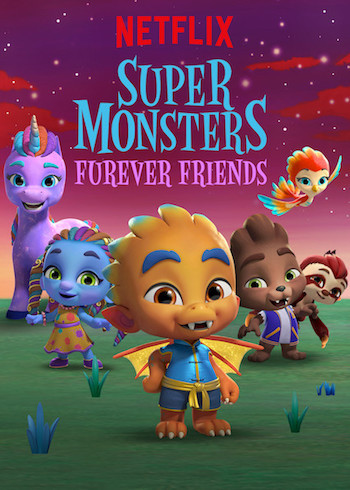 Super Monsters Furever Friends 2019 Dual Audio Hindi 720p WEB-DL 650MB