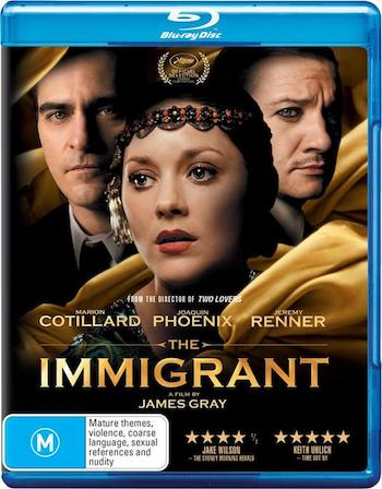 The Immigrant 2013 Dual Audio Hindi 720p BluRay 850mb