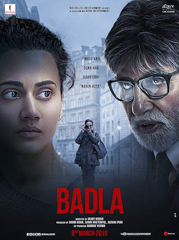 Badla 2019 Hindi 480p WEB-DL 350MB