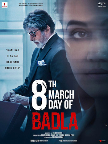Badla 2019 Hindi 720p WEB-DL 850MB