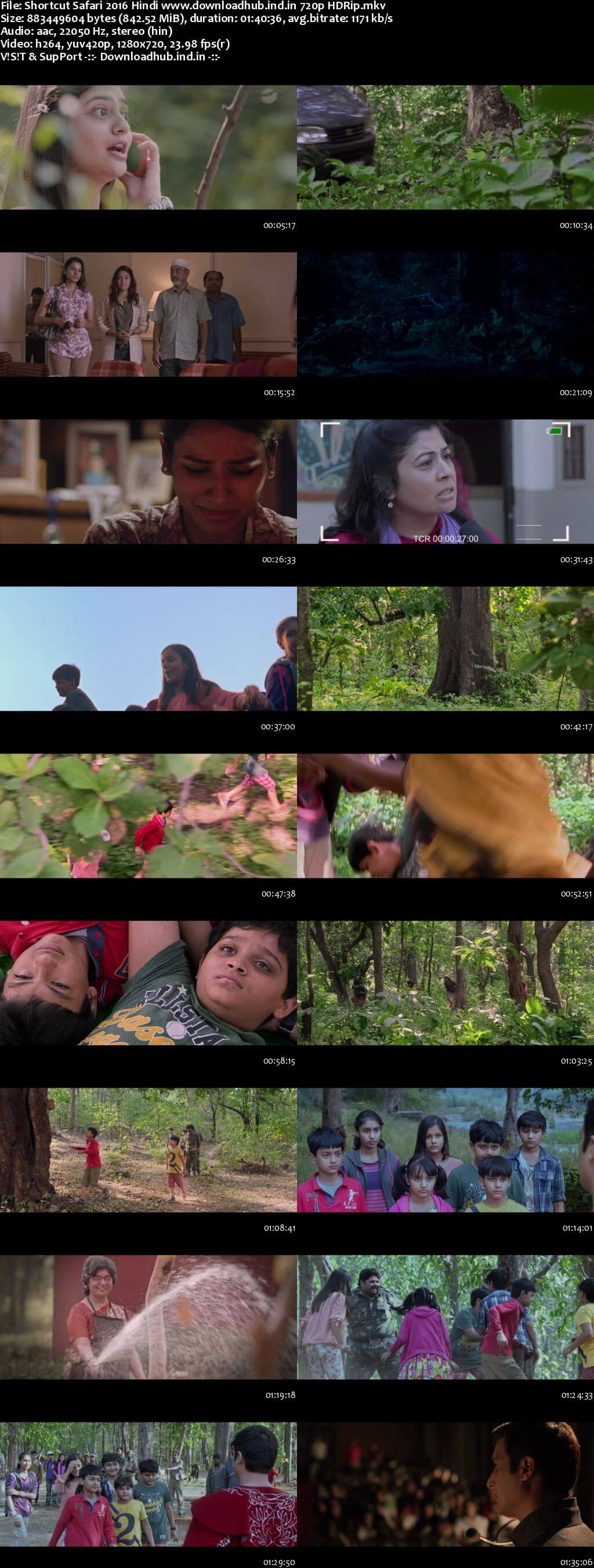 Shortcut Safari 2016 Hindi 720p HDRip x264