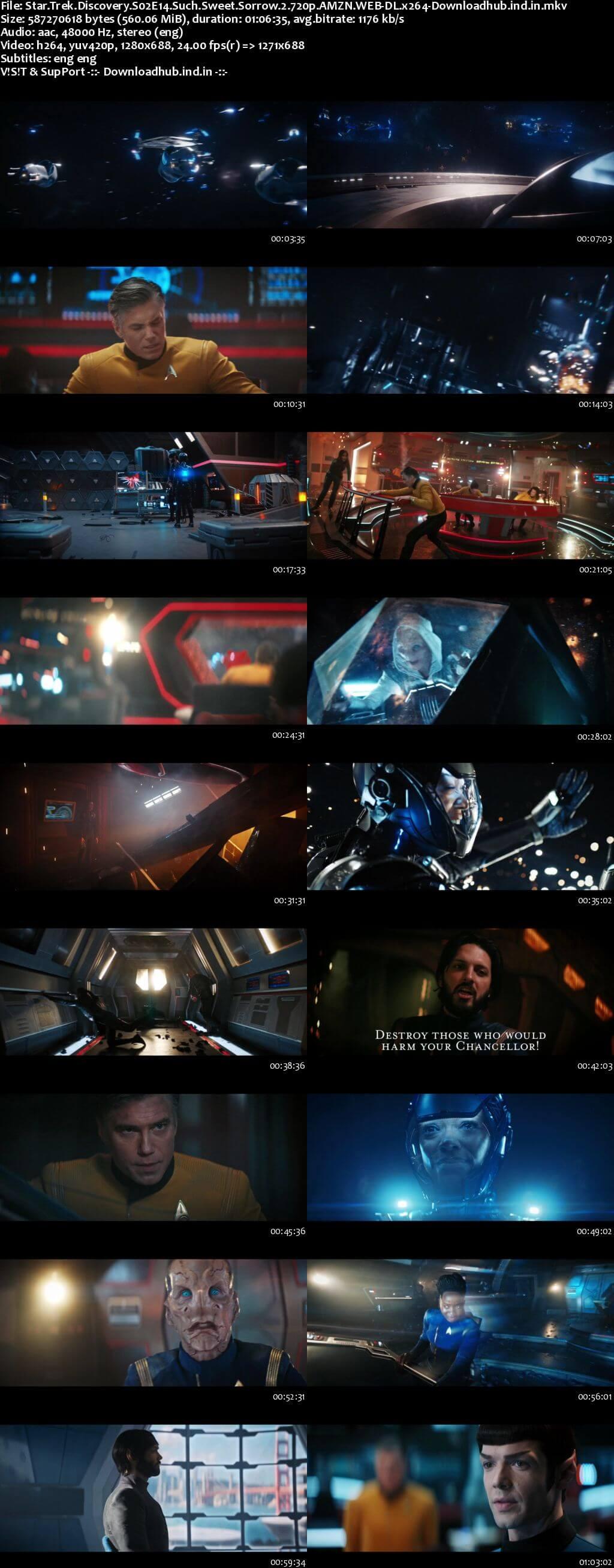 Star Trek Discovery S02E14 550MB AMZN WEB-DL 720p ESubs