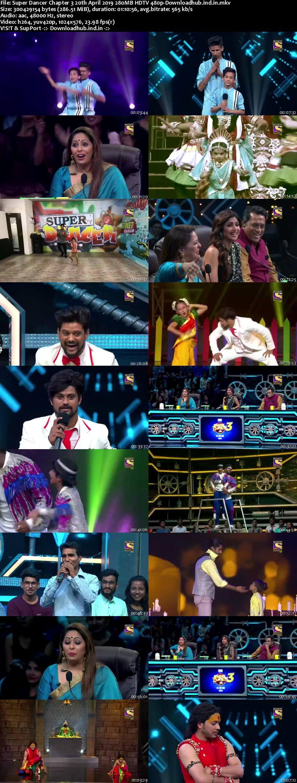 Super Dancer Chapter 3 20 April 2019 Episode 33 HDTV 480p