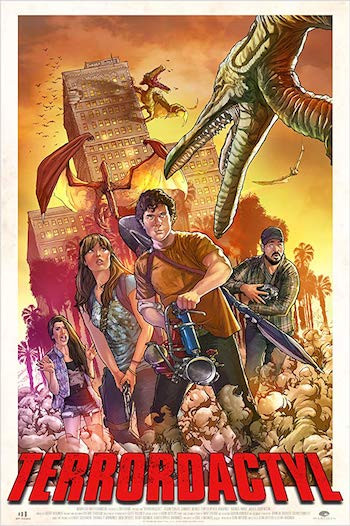 Terrordactyl 2016 Dual Audio Hindi 720p WEB-DL 800mb