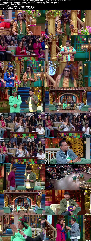 The Kapil Sharma Show 20 April 2019 Episode 33 HDTV 480p