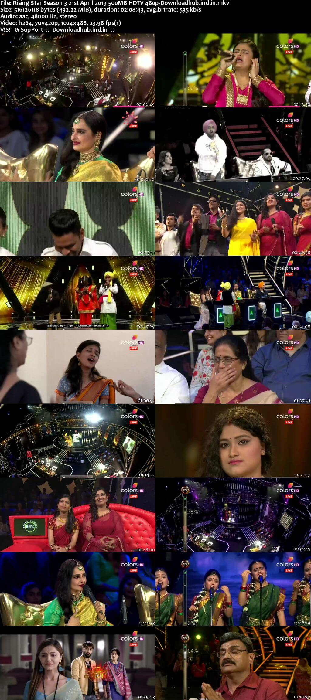 Rising Star Season 3 21 April 2019 Episode 11 HDTV 480p