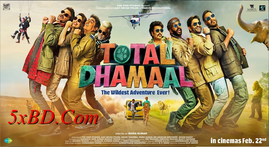 Total Dhamaal 2019 Hindi 1080p – 720p – HEVC – 480p ORG WEB-DL 350MB – 650MB – 1GB – 2.2GB ESubs