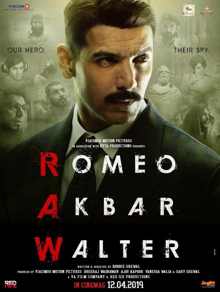 Download Romeo Akbar Walter (2019) Hindi HDRip x264 AAC [Team DRSD] Torrent