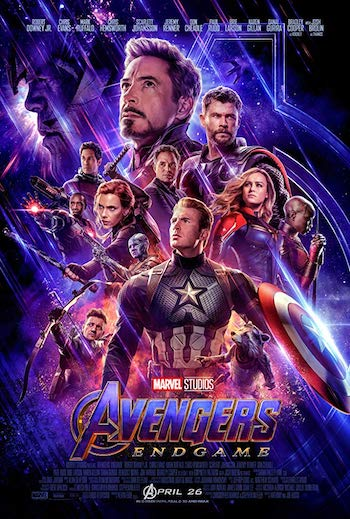 Avengers Endgame 2019 English 480p CAMRip 500MB