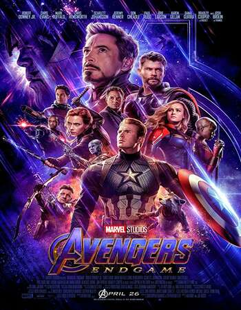 Avengers Endgame 2019 Hindi Dual Audio HDRio Full Movie 480p Download