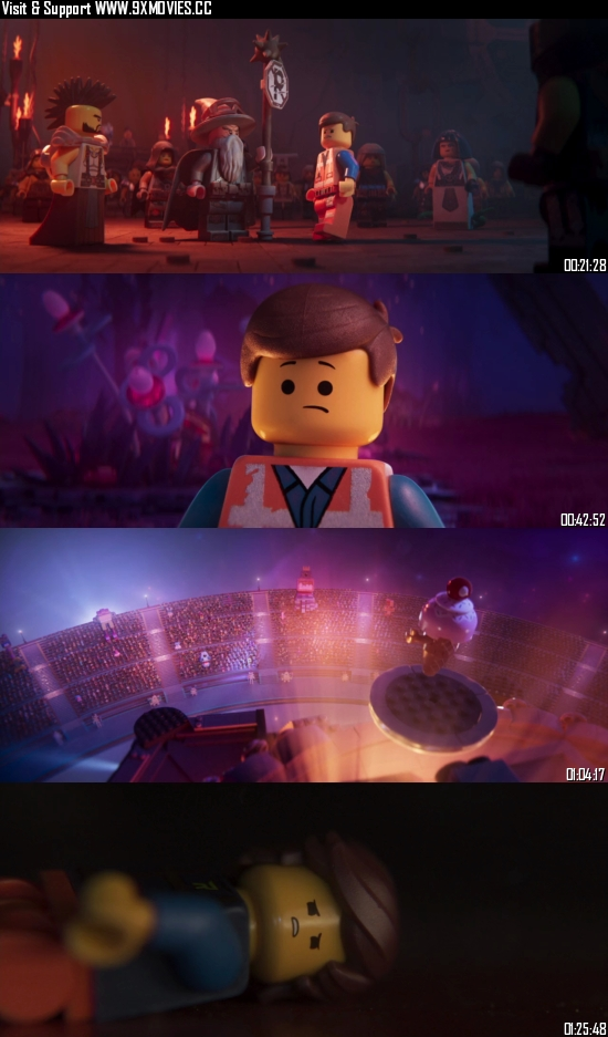 The Lego Movie 2 The Second Part 2019 English 720p BRRip 999MB ESubs