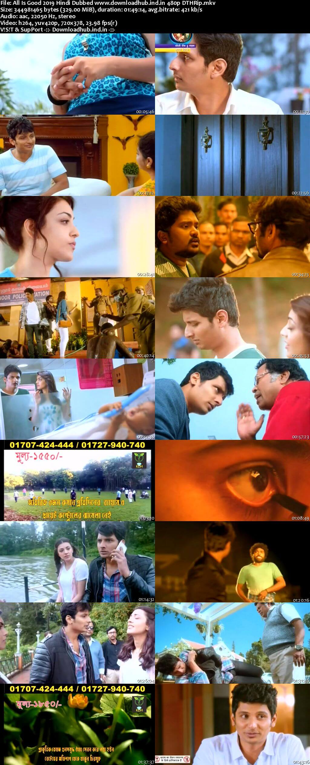 All Is Good 2019 Hindi Dubbed 300MB DTHRip 480p