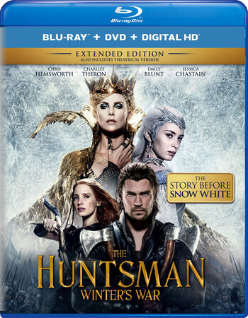 The Huntsman Winters War (2016) EXTENDED Dual Audio [Hindi 2.0 – English 2.0] 720p BluRay 1GB