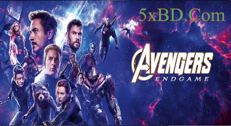 Avengers: Endgame 2019 Dual Audio [Hindi – English] 720p – 480p HD CamRip 550MB – 1.2GB