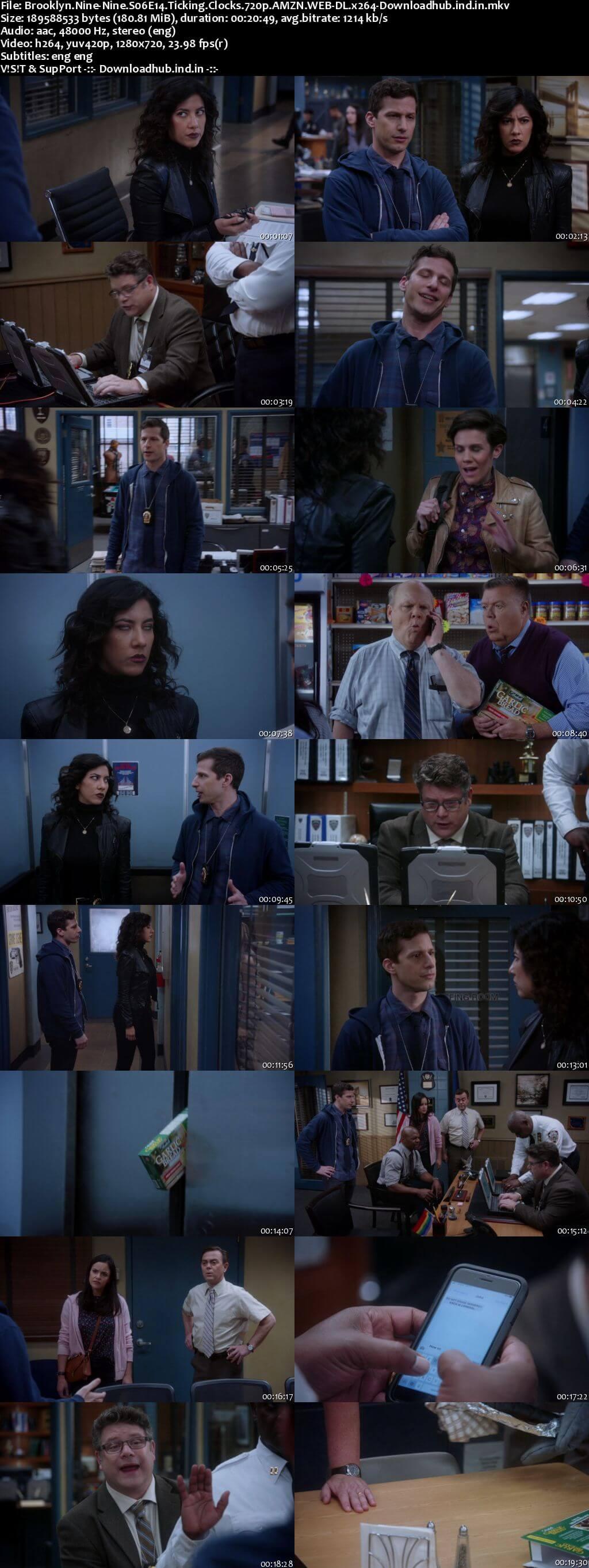 Brooklyn Nine-Nine S06E14 180MB WEB-DL 720p ESubs