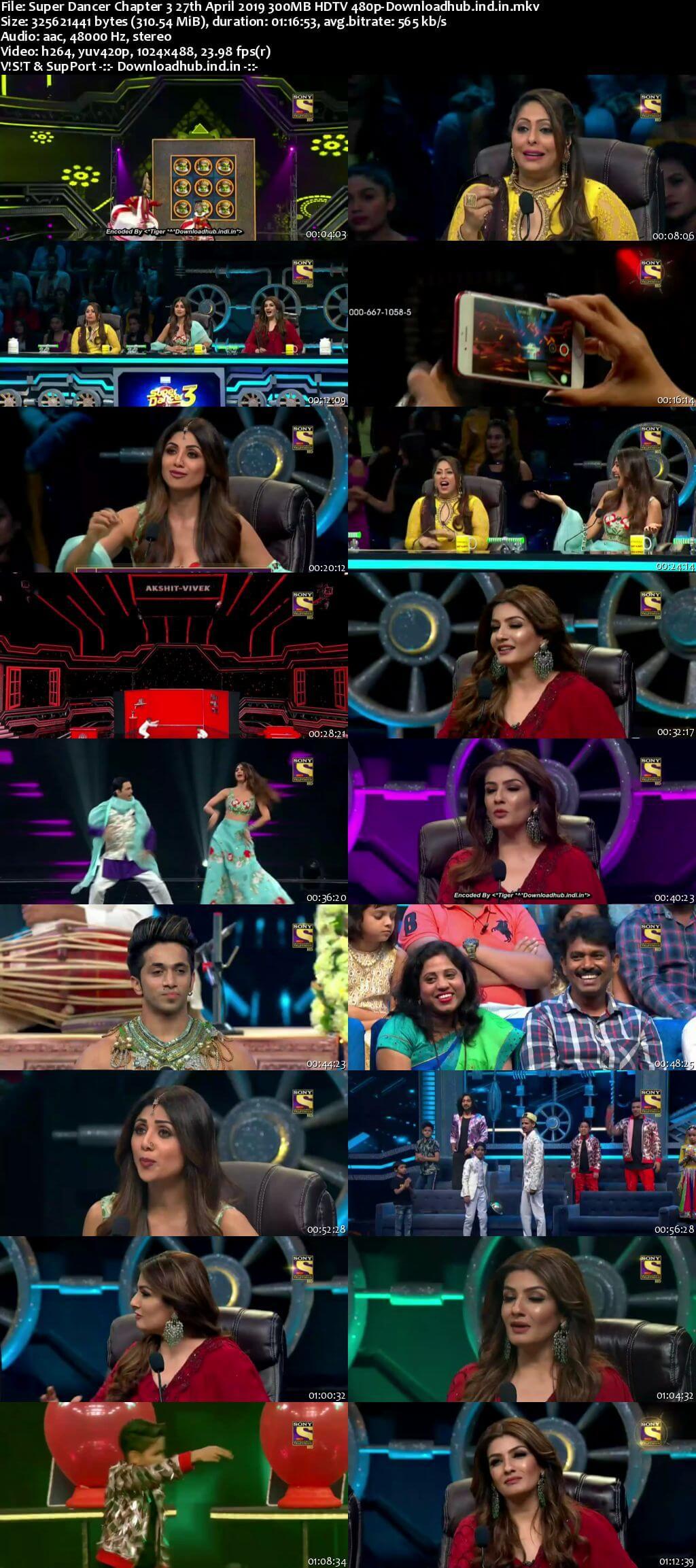 Super Dancer Chapter 3 27 April 2019 Episode 35 HDTV 480p