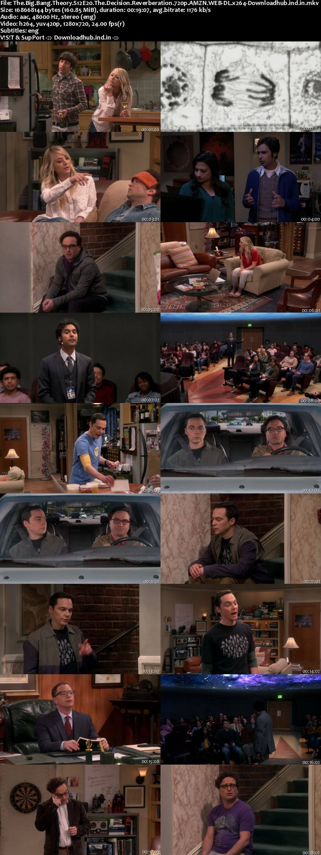 The Big Bang Theory S12E20 160MB AMZN WEB-DL 720p ESubs