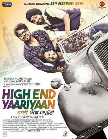DHigh End Yaariyaan 2019 Full Punjabi Movie 720p HEVC Download