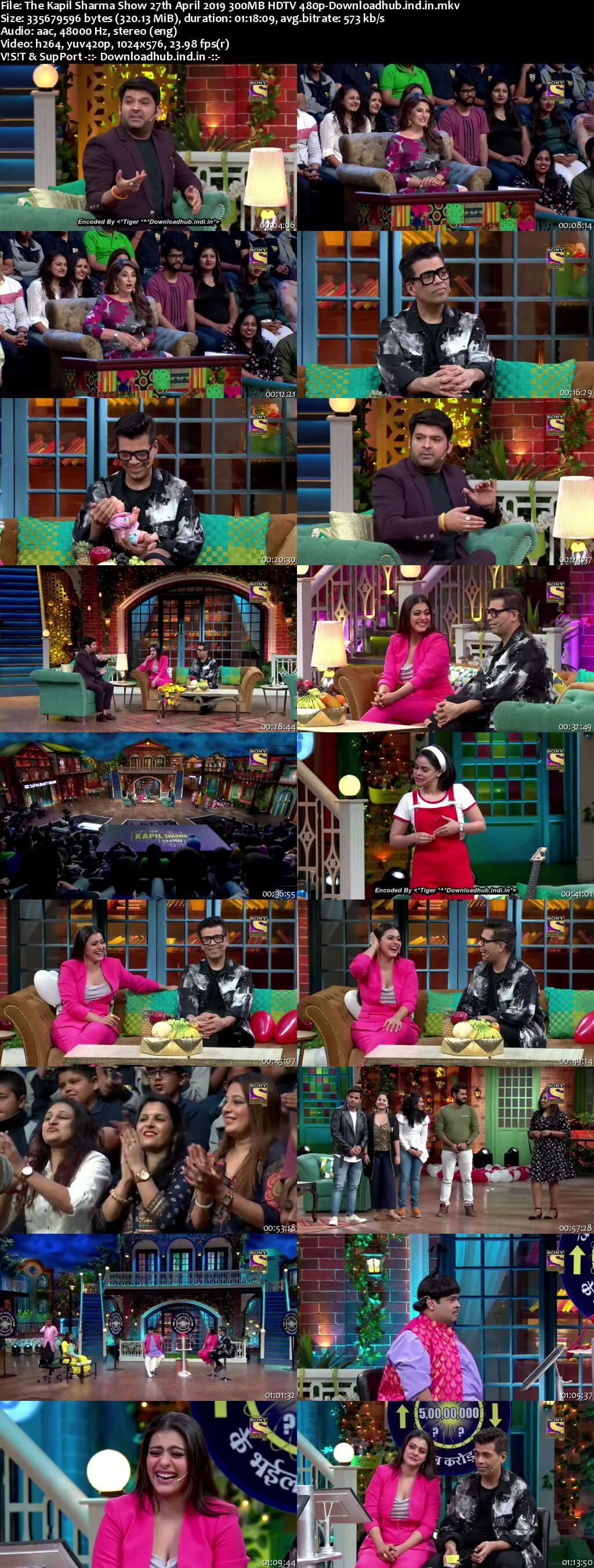 The Kapil Sharma Show 27 April 2019 Episode 35 HDTV 480p