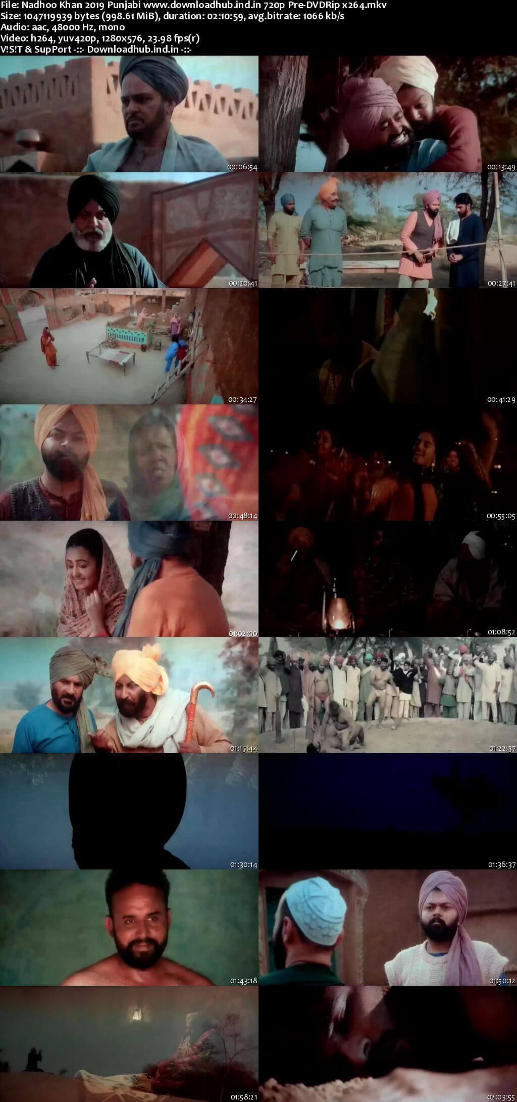 Nadhoo Khan 2019 Punjabi 720p Pre-DVDRip x264