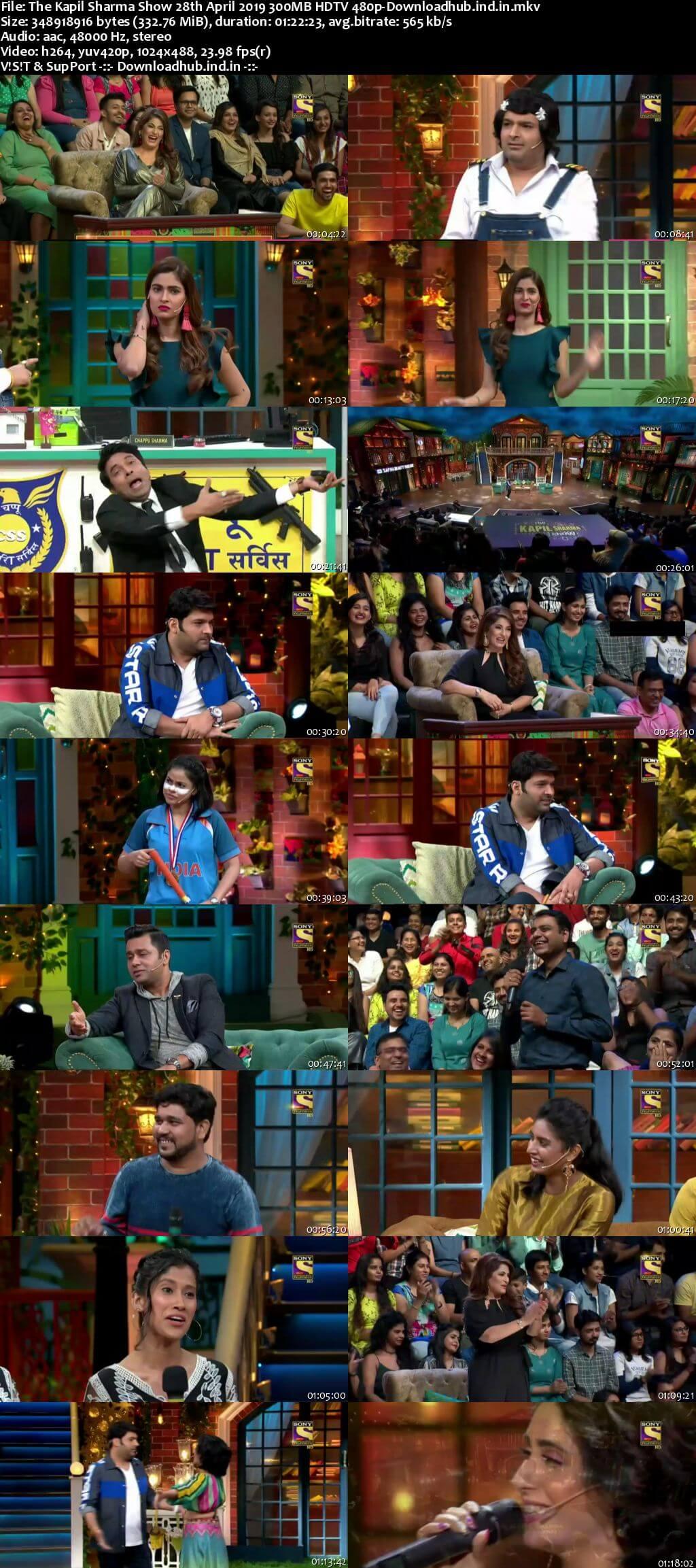 The Kapil Sharma Show 28 April 2019 Episode 36 HDTV 480p