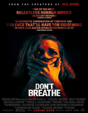 Dont Breathe 2016 Hindi Dual Audio BRRip Full Movie 720p HEVC Download