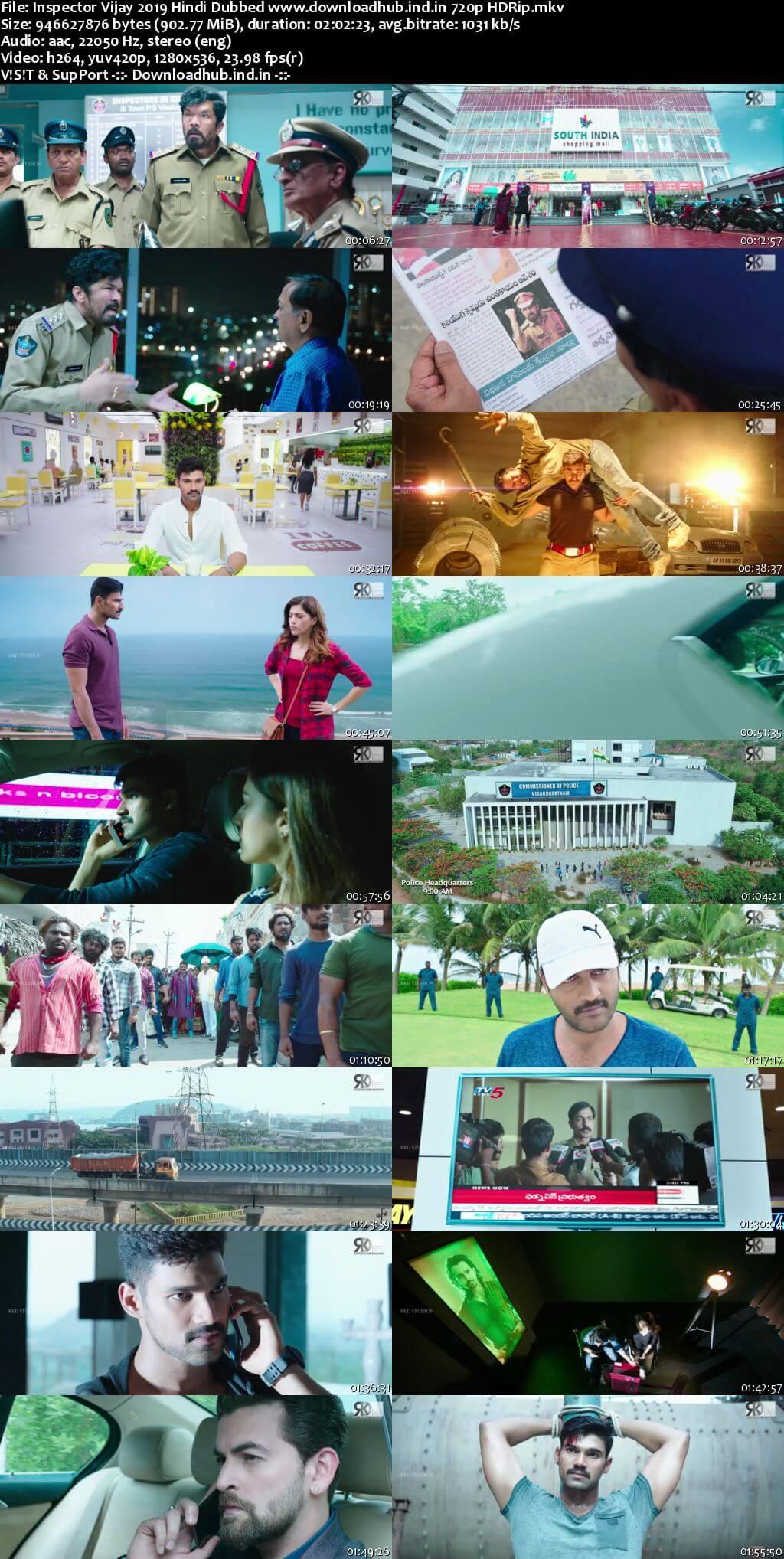 Inspector Vijay 2019 Hindi Dubbed 720p HDRip x264
