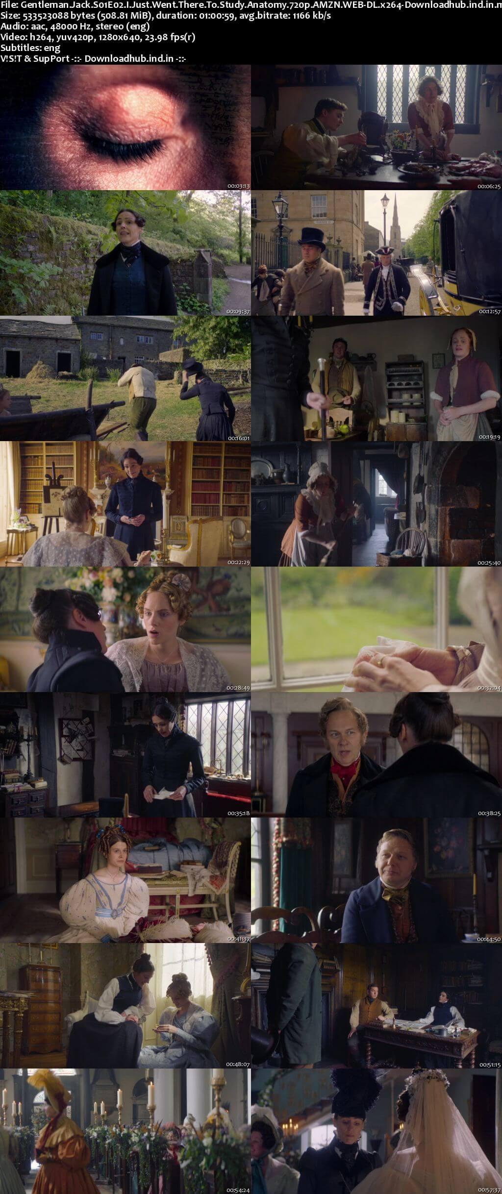 Gentleman Jack S01E02 500MB AMZN WEB-DL 720p ESubs