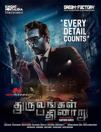 Dhuruvangal Pathinaaru 2019 Hindi Dubbed 720p HDRip 750MB