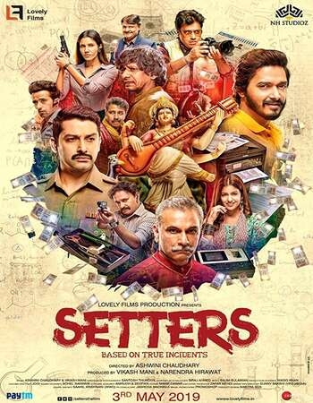 Setters 2019 Full Hindi Movie 720p pDVDRip Free Download