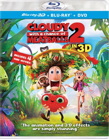 Cloudy With A Chance Of Meatballs 2 (2013) Dual Audio Hindi Bluray Movie Download
