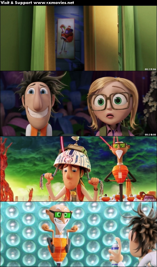 Cloudy With A Chance Of Meatballs 2 (2013) Dual Audio Hindi 480p BluRay
