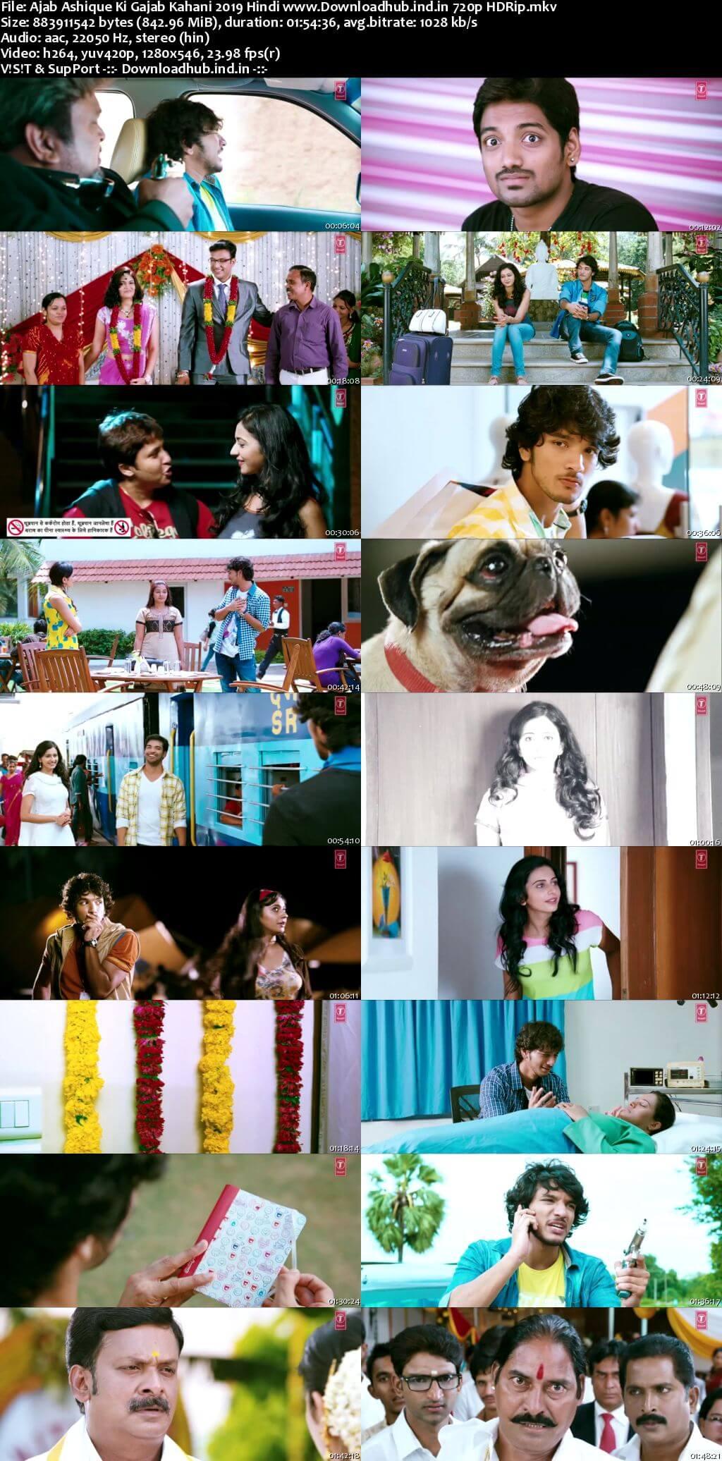 Ajab Ashique Ki Gajab Kahani 2019 Hindi Dubbed 720p HDRip x264