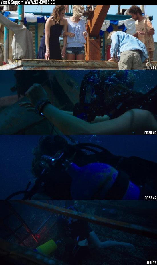 47 Meters Down 2017 Dual Audio Hindi 480p BluRay 280MB