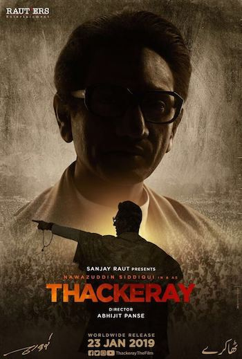 Thackeray 2019 Hindi 720p DVDRip 999mb
