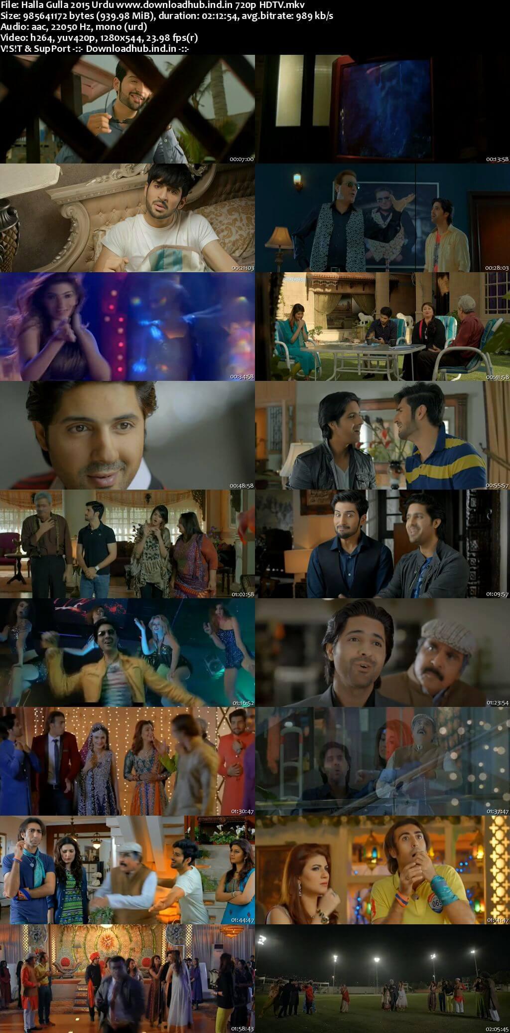 Halla Gulla 2015 Urdu 720p HDTV x264