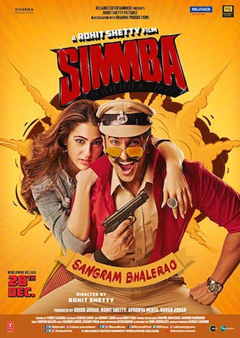 Simmba 2018 Hindi 720p DVDRip 1.1GB