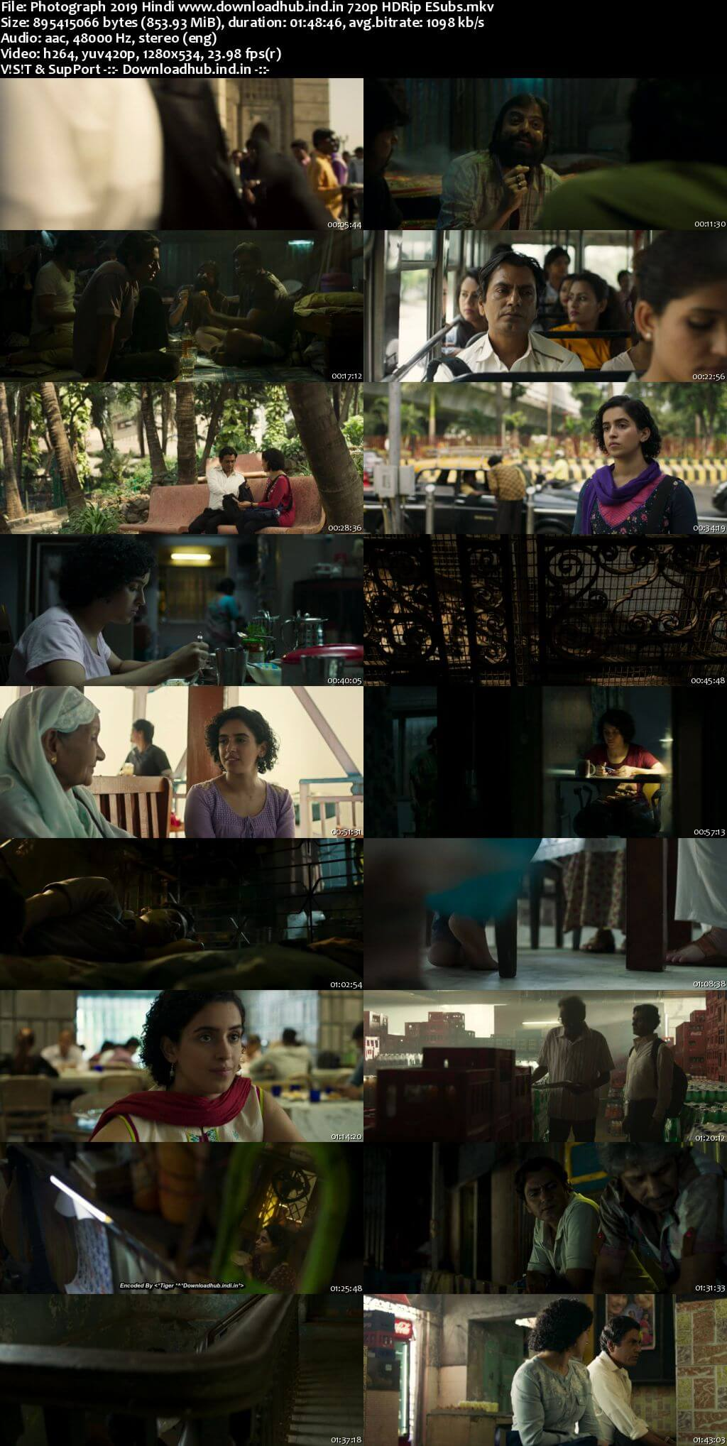 Photograph 2019 Hindi 720p HDRip ESubs