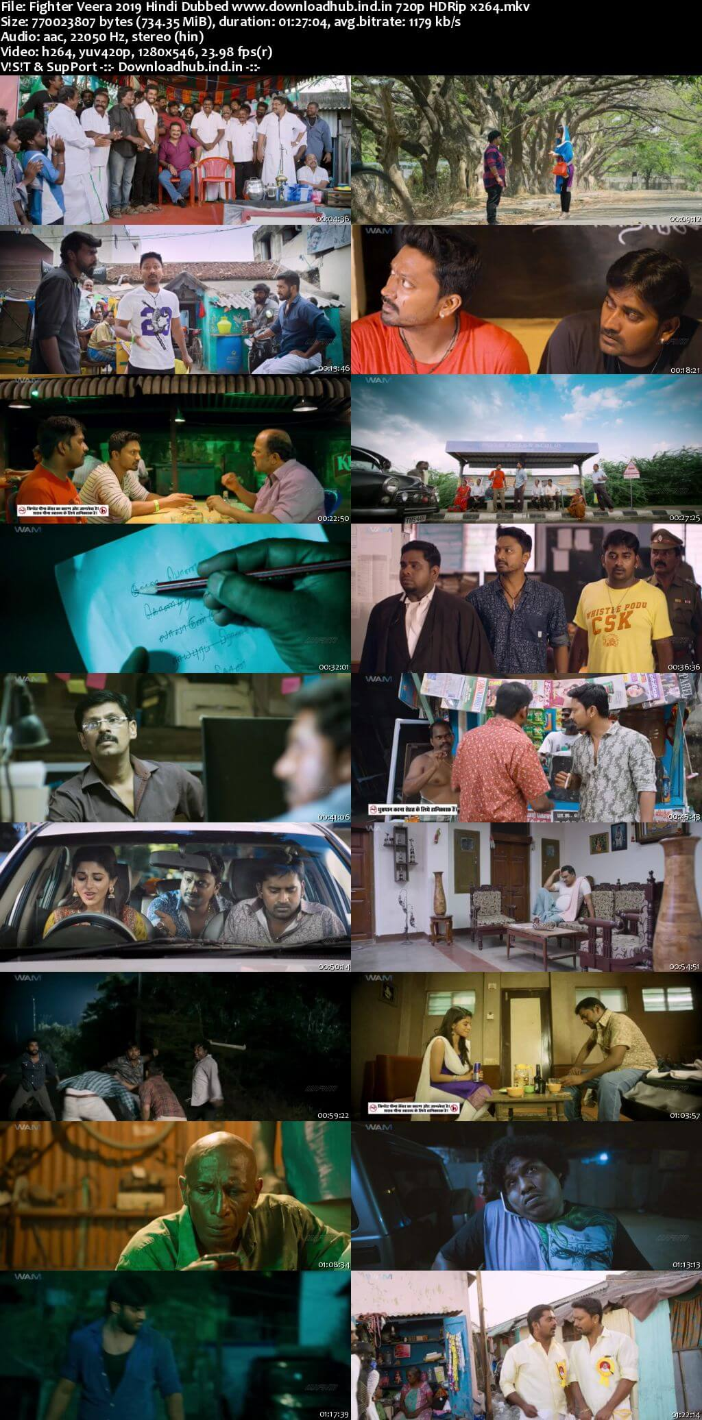 Fighter Veera 2019 Hindi Dubbed 720p HDRip x264