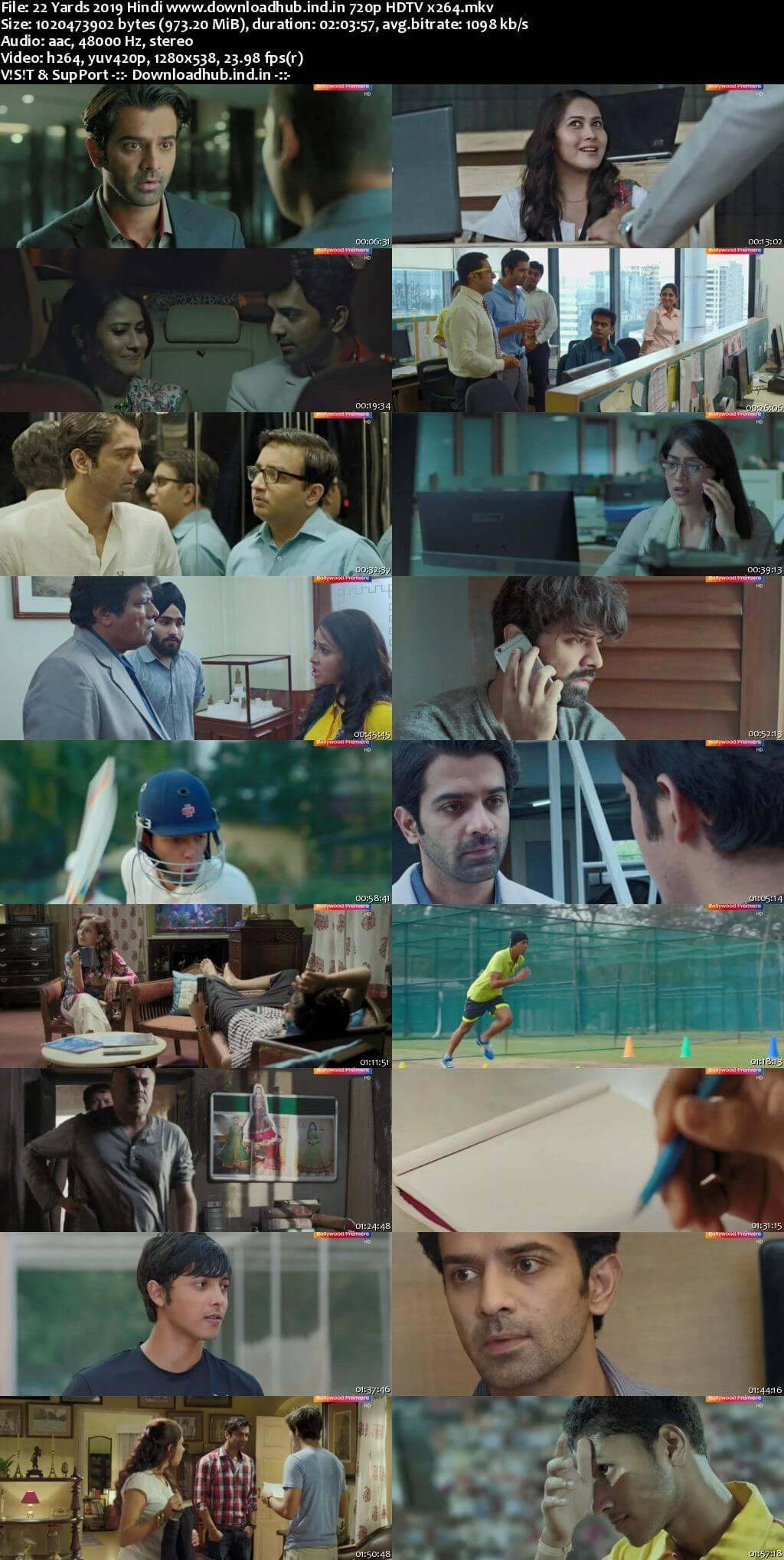 22 Yards 2019 Hindi 720p HDTV x264
