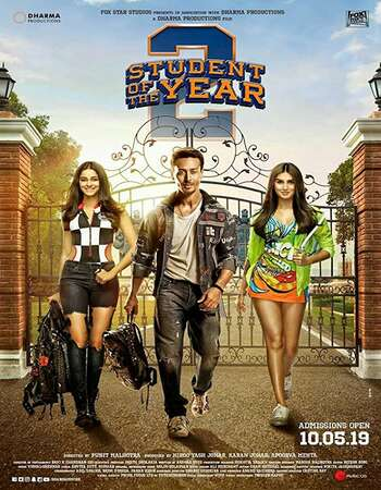 Student of the Year 2 2019 Hindi 400MB Pre-DVDRip 480p Full Movie