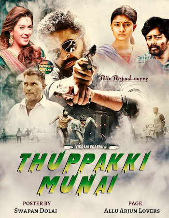 Thuppaki Munnai 2019 Hindi Dubbed 720p HDRip 800mb