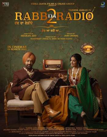 Rabb Da Radio 2 2019 Full Punjabi Movie 720p HEVC Download