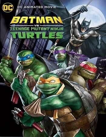 Batman vs Teenage Mutant Ninja Turtles 2019 English 720p Web-DL 650MB ESubs