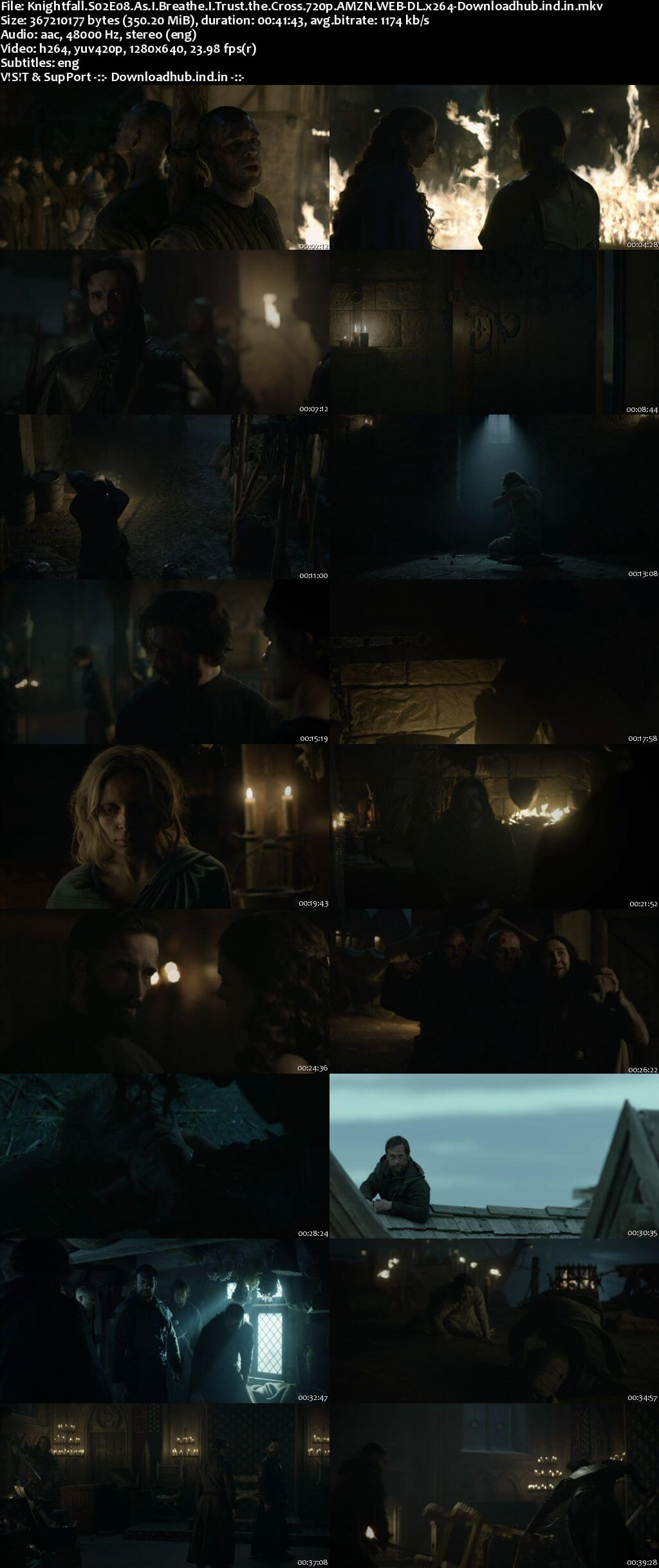 Knightfall S02E08 350MB AMZN WEB-DL 720p ESubs